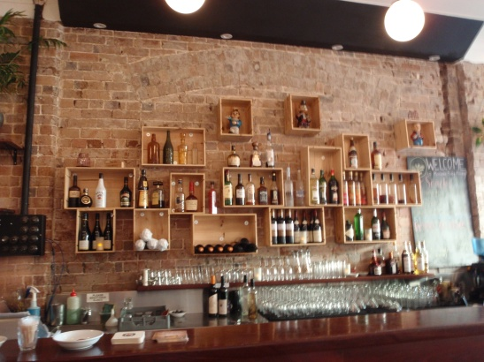 Behind the bar - where the magic happens